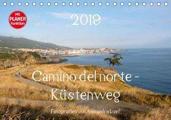 Camino del norte – Küstenweg (Tischkalender 2019 DIN A5 quer) von Luef,  Alexandra