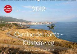 Camino del norte – Küstenweg (Wandkalender 2019 DIN A2 quer) von Luef,  Alexandra