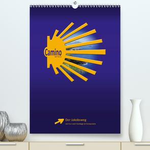 Camino del Norte (Premium, hochwertiger DIN A2 Wandkalender 2020, Kunstdruck in Hochglanz) von Vossemer,  Stefan