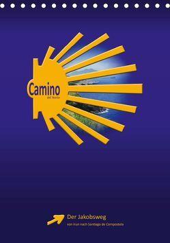 Camino del Norte (Tischkalender 2019 DIN A5 hoch) von Vossemer,  Stefan