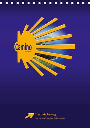 Camino del Norte (Tischkalender 2020 DIN A5 hoch) von Vossemer,  Stefan