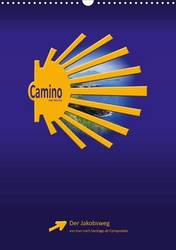 Camino del Norte (Wandkalender 2020 DIN A3 hoch) von Vossemer,  Stefan