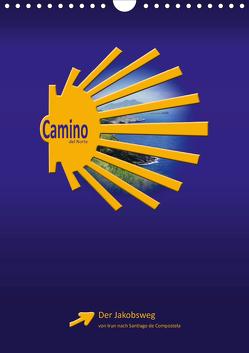 Camino del Norte (Wandkalender 2020 DIN A4 hoch) von Vossemer,  Stefan