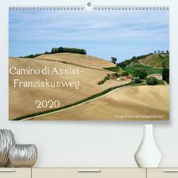 Camino di Assisi – FranziskuswegAT-Version (Premium, hochwertiger DIN A2 Wandkalender 2020, Kunstdruck in Hochglanz) von Luef,  Alexandra