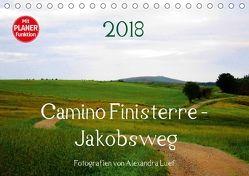 Camino Finisterre – JakobswegAT-Version (Tischkalender 2018 DIN A5 quer) von Luef,  Alexandra