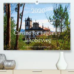 Camino Portugues – JakobswegAT-Version (Premium, hochwertiger DIN A2 Wandkalender 2020, Kunstdruck in Hochglanz) von Luef,  Alexandra