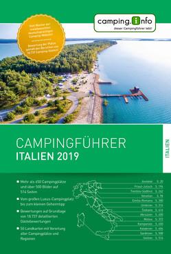 Camping.Info Campingführer Italien 2019