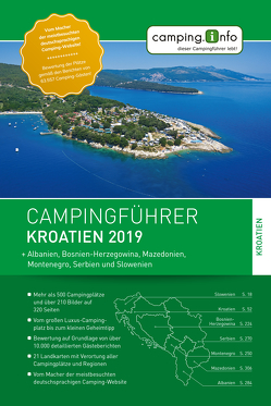 Camping.Info Campingführer Kroatien 2019
