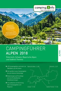 Camping.Info Campingführer Alpen 2018