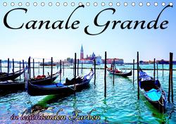 Canale Grande in leuchtenden Farben (Tischkalender 2020 DIN A5 quer) von Frank,  Rolf