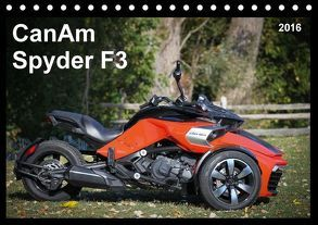 CanAm Spyder F3 (Tischkalender 2016 DIN A5 quer) von Wolff,  Jürgen