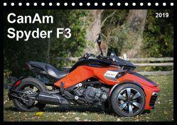 CanAm Spyder F3 (Tischkalender 2019 DIN A5 quer) von Wolff,  Juergen