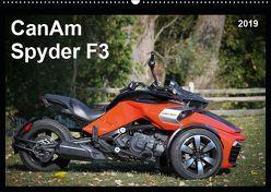 CanAm Spyder F3 (Wandkalender 2019 DIN A2 quer) von Wolff,  Juergen