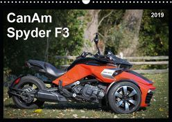 CanAm Spyder F3 (Wandkalender 2019 DIN A3 quer) von Wolff,  Juergen