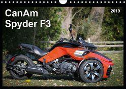 CanAm Spyder F3 (Wandkalender 2019 DIN A4 quer) von Wolff,  Juergen
