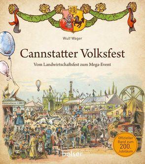 Cannstatter Volksfest von Wager,  Wulf