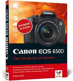 Canon EOS 650D von Spehr,  Dietmar