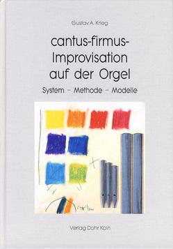 cantus-firmus-Improvisation auf der Orgel von Krieg,  Gustav A