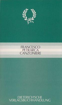 Canzoniere von Petrarca,  Francesco, Regn,  Gerhard