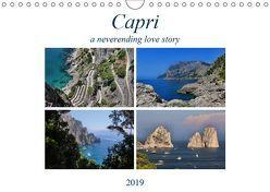 CapriCH-Version (Wandkalender 2019 DIN A4 quer) von Pinto,  Noemi