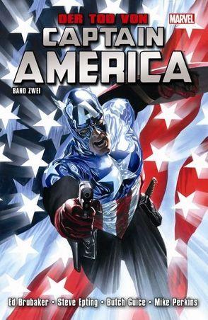 Captain America: Der Tod von Captain America von Brubaker,  Ed, Epting,  Steve, Guice,  Butch, Perkins,  Mike