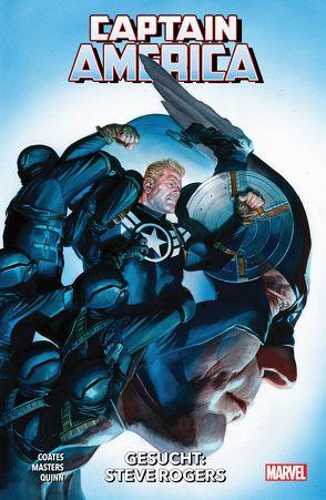 Captain America – Neustart von Coates,  Ta-Nehisi, Izaake,  Sean, Masters,  Jason, Quinn,  Bob, Syska,  Robert, Walter,  Niko, Werneck,  Lucas