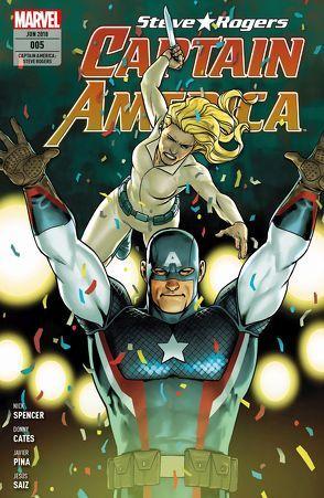 Captain America: Steve Rogers von Bachs,  Ramon, Bennett,  Joe, Cates,  Donny, Guinaldo,  Andres, Pina,  Javier, Saiz,  Jesus, Spencer,  Nick, Syska,  Robert