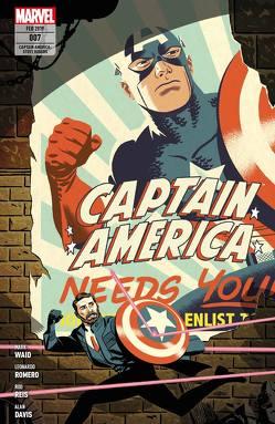 Captain America: Steve Rogers von Chaykin,  Howard, Davis,  Alan, Farmer,  Mark, Hughes,  Adam, Jones,  J.G., Reis,  Rod, Romero,  Leonardo, Syska,  Robert, Waid,  Mark
