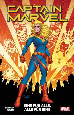 Captain Marvel – Neustart von Carnero,  Carmen, Thompson,  Kelly