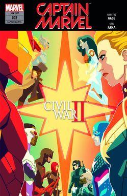 Captain Marvel von Althoff,  Gerlinde, Failla,  Marco, Fletcher Gage,  Ruth, Gage,  Christos N.