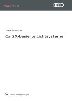 Car2X-basierte Lichtsysteme von Armbruster,  Tilman