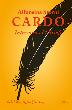 Cardo von Heidenreich,  Elke, Keller,  Hildegard E, Storni,  Alfonsina