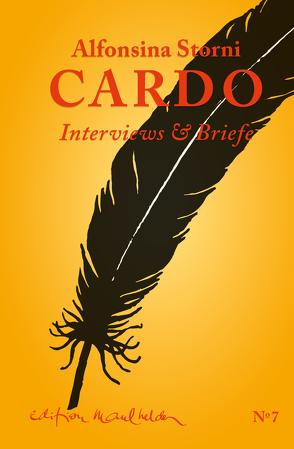 Cardo von Keller,  Hildegard E, Storni,  Alfonsina