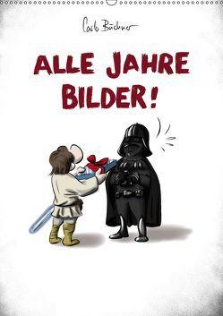 Carlo Büchner ALLE JAHRE BILDER! (Wandkalender 2019 DIN A2 hoch)