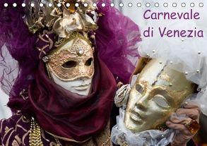 Carnevale di Venezia 2018 (Tischkalender 2018 DIN A5 quer) von Scholze,  Verena