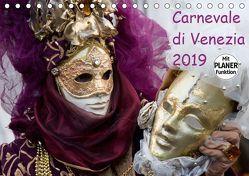 Carnevale di Venezia 2019 (Tischkalender 2019 DIN A5 quer) von Scholze,  Verena