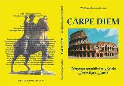 Carpe diem – 2. Auflage von Mauersberger,  Wolfgang, Sagittarius Verlag