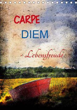 Carpe diem- Lebensfreude (Tischkalender 2019 DIN A5 hoch)
