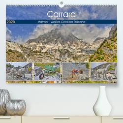 Carrara Marmor – weißes Gold der Toscana (Premium, hochwertiger DIN A2 Wandkalender 2020, Kunstdruck in Hochglanz) von Geiger,  Günther