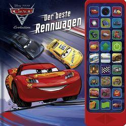 Cars 3 – Der Beste Rennwagen – Hardcover-Buch – 27 coole Geräusche zu dem Cars 3 Disney/Pixar-Film