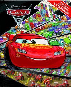 Cars 3 – Disney·Pixar – Verrückte Such-Bilder extragroß – Hardcover-Wimmelbuch für Kinder ab 3 Jahren im XXL Format