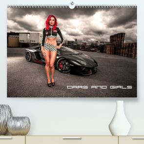 Cars and Girls (Premium, hochwertiger DIN A2 Wandkalender 2021, Kunstdruck in Hochglanz) von Rupp,  Patrick