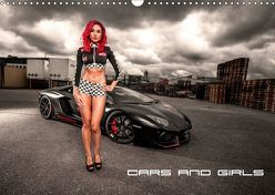 Cars and Girls (Wandkalender 2019 DIN A3 quer)