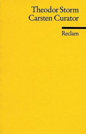 Carsten Curator von Rüttmann,  Irene, Storm,  Theodor