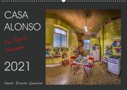 CASA ALONSO – Ein Tag in Havanna (Wandkalender 2021 DIN A2 quer) von Ricardo González,  Daniel