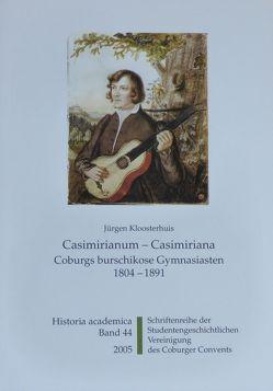 Casimirianum – Casimiriana von Becker,  Ulrich, Enser,  Norbert, Frische,  Detlef, Kloosterhuis,  Jürgen