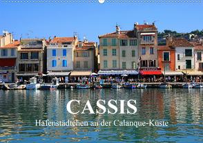 Cassis – Hafenstädtchen an der Calanque-Küste (Wandkalender 2020 DIN A2 quer) von Werner Altner,  Dr.