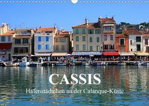 Cassis – Hafenstädtchen an der Calanque-Küste (Wandkalender 2020 DIN A3 quer) von Werner Altner,  Dr.