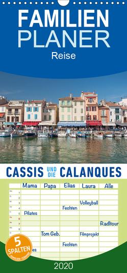 Cassis und die Calanques – Familienplaner hoch (Wandkalender 2020 , 21 cm x 45 cm, hoch) von Ristl,  Martin