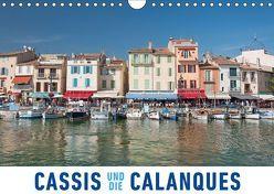 Cassis und die Calanques (Wandkalender 2019 DIN A4 quer) von Ristl,  Martin